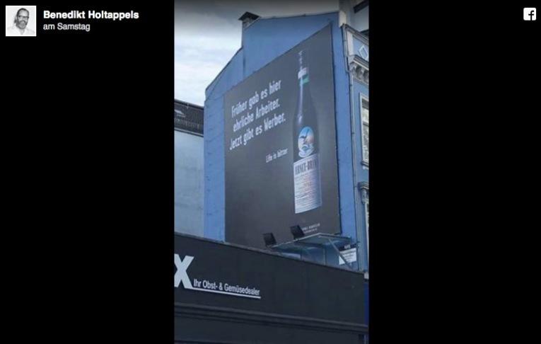 Fernet Branca Werbung und Post von Jung von Matt Holtappels